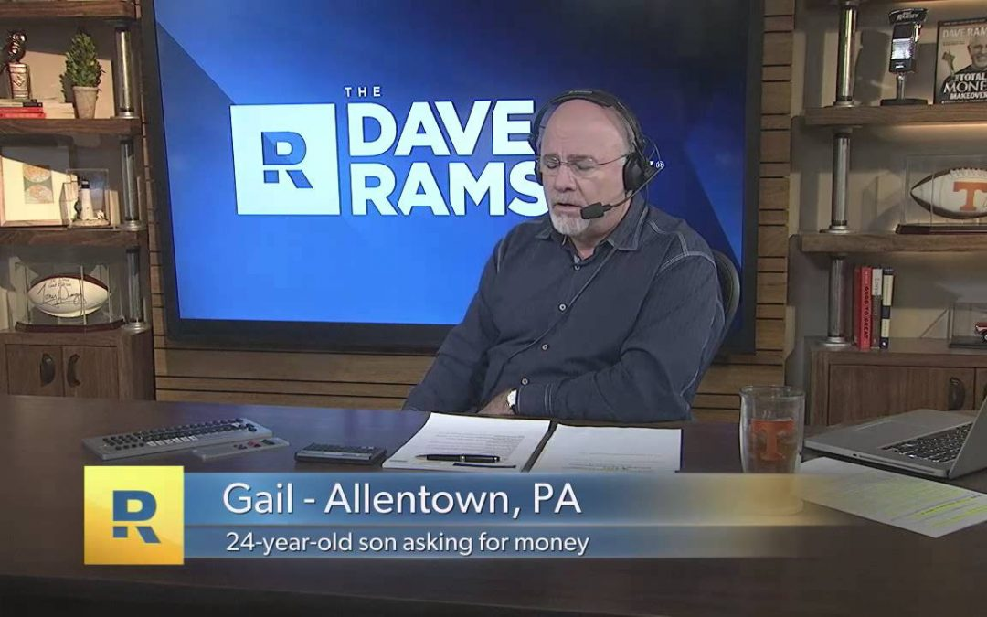 "Dave Ramsey – How do you say ""NO"" to your kids?"