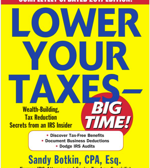 "Best Book to Understand the ""Sandbox"" of Aggressive Tax Deductions for Small Business"