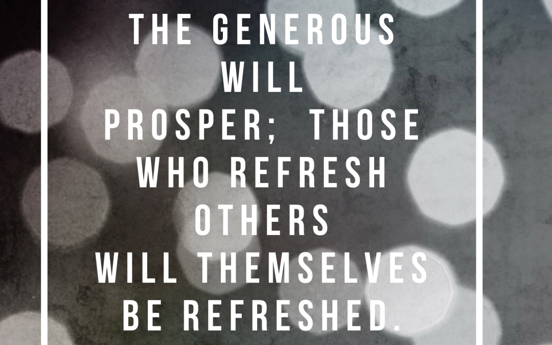 Three ways to refresh others
