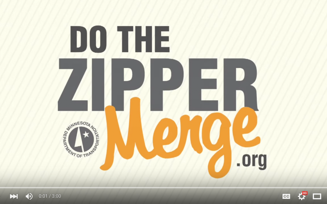 Minnesota Department of Transportation – How to do the Zipper Merge